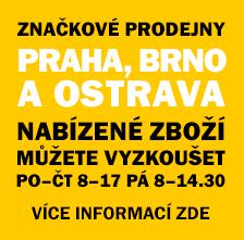 Informace o prodejnách PROFI ODĚVY