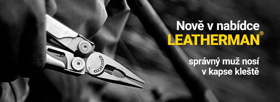 Nově nabízíme multitool nářadí Leatherman! Klikněte pro více informací!