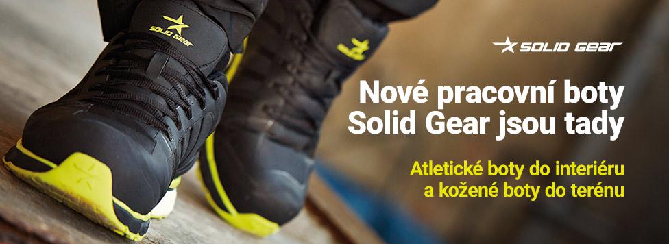 Nová pracovní obuv Solid Gear