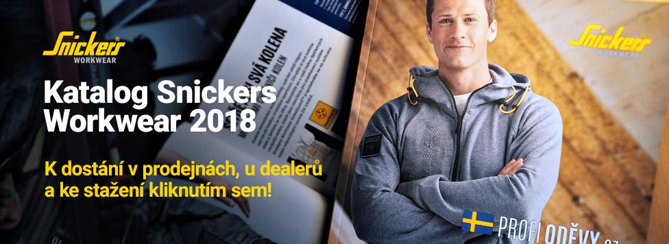 Vytiskli jsme letošní katalog oděvů Snickers Workwear 2018!