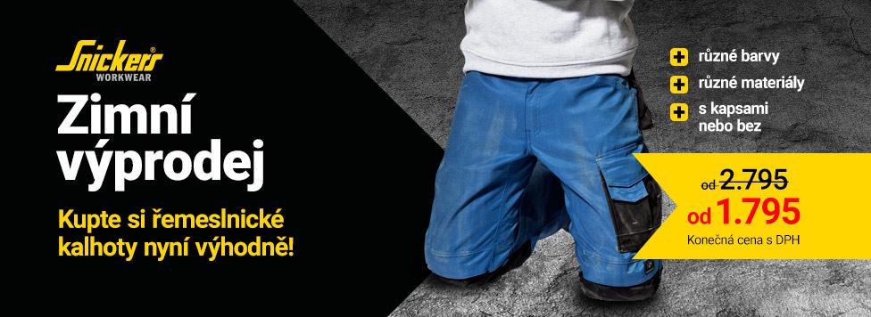 Zimní výprodej - výhodné slevy na kalhoty