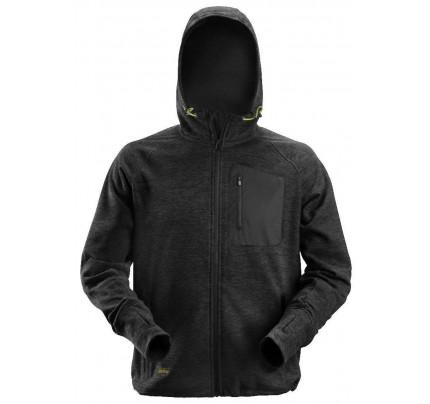 Mikina s kapucí FlexiWork Mesh černá