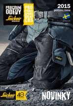 Katalog novinek Snickers Workwear podzim 2015