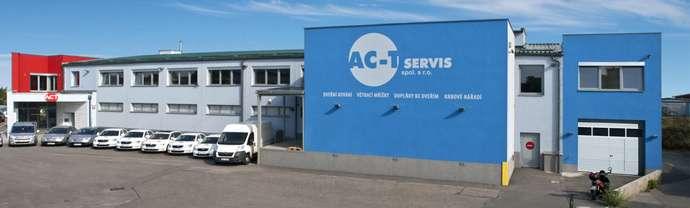 Sídlo společnosti AC-T servis spol. s r.o. Praha 9 Horní Počernice