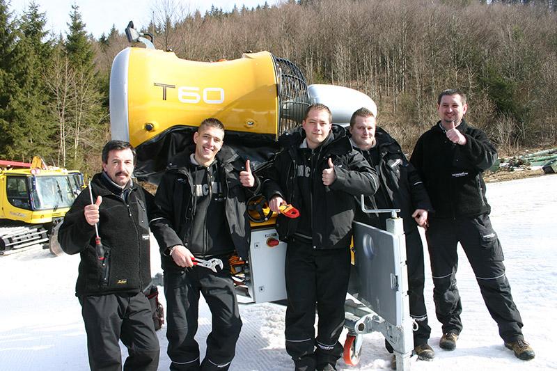 Technoalpin - servis sněžných děl